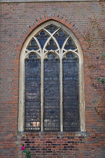 North facing window  Fenny Stratford church
