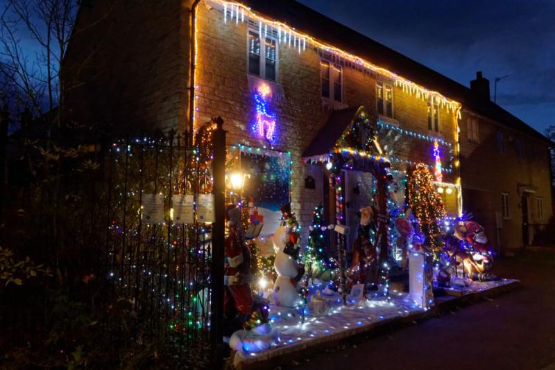 Olney Xmas lights