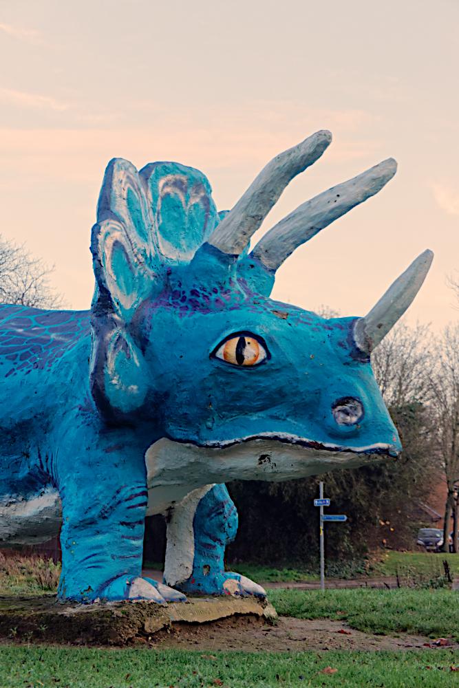 The Bill Billings triceratops