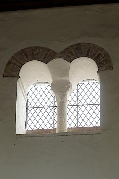 Saxon window  Wing church