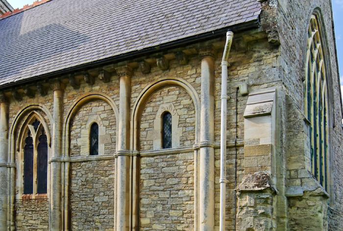 Norman chancel  Olney
