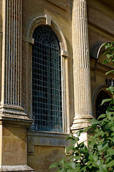 Gayhurst church window