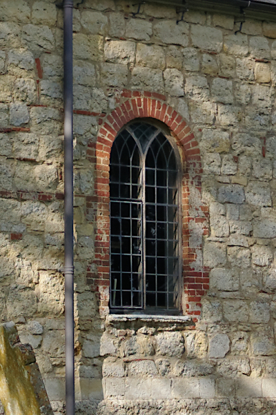 Dunton church window  Bucks