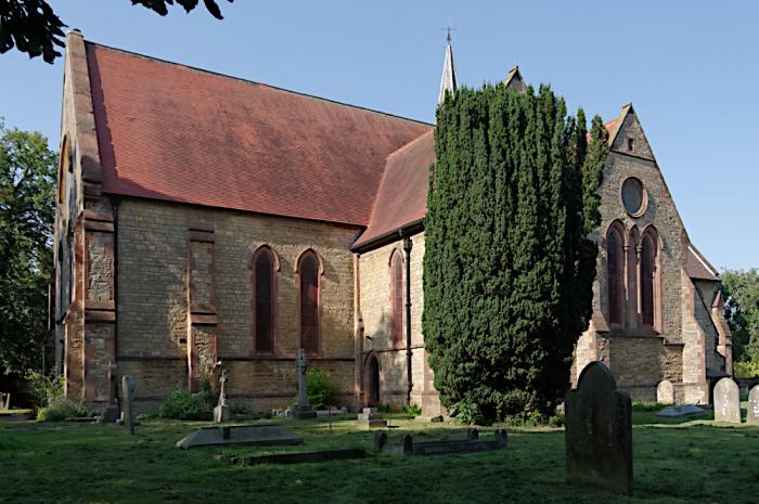 Wolverton Gothic revival church
