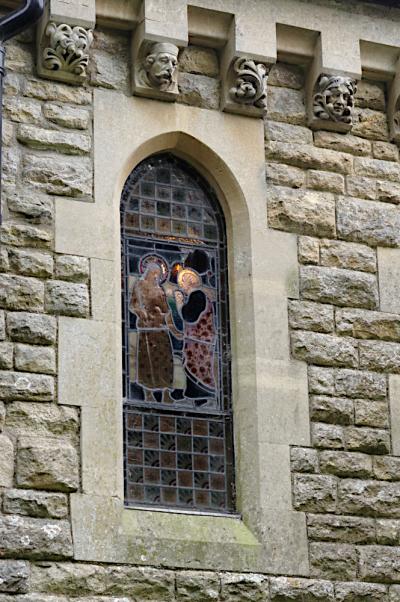 Chancel window  Tyringham
