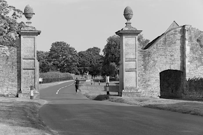 Gateposts  Weston Underwood