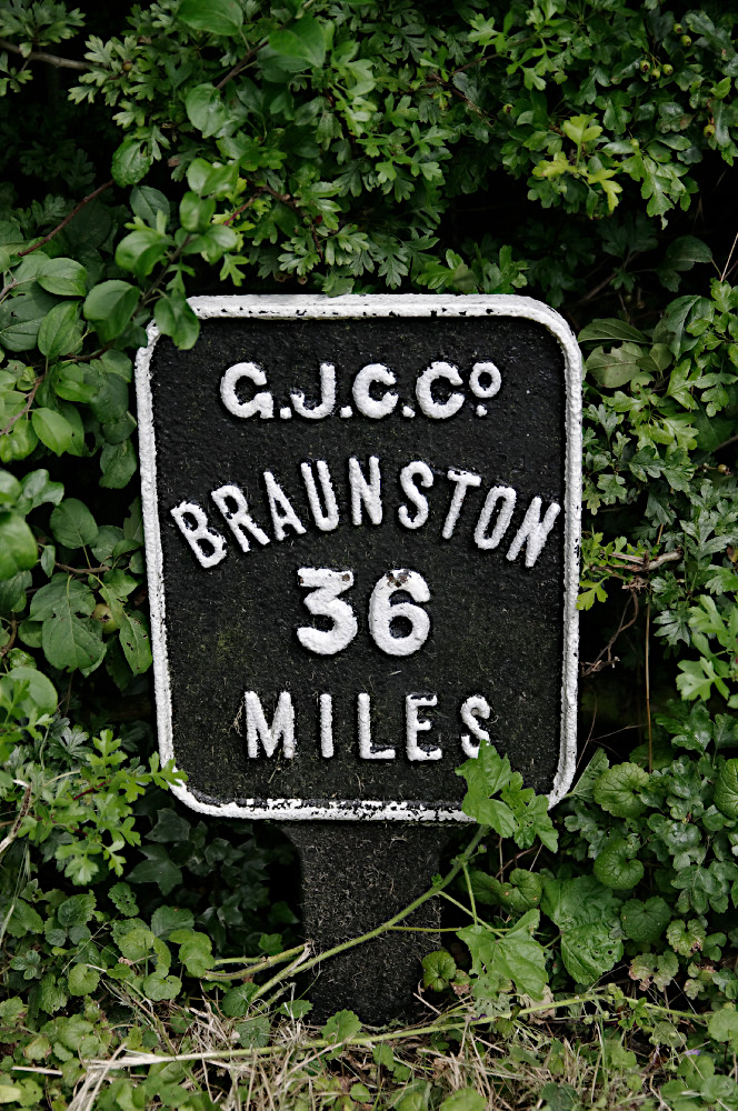 Grand Junction mile post