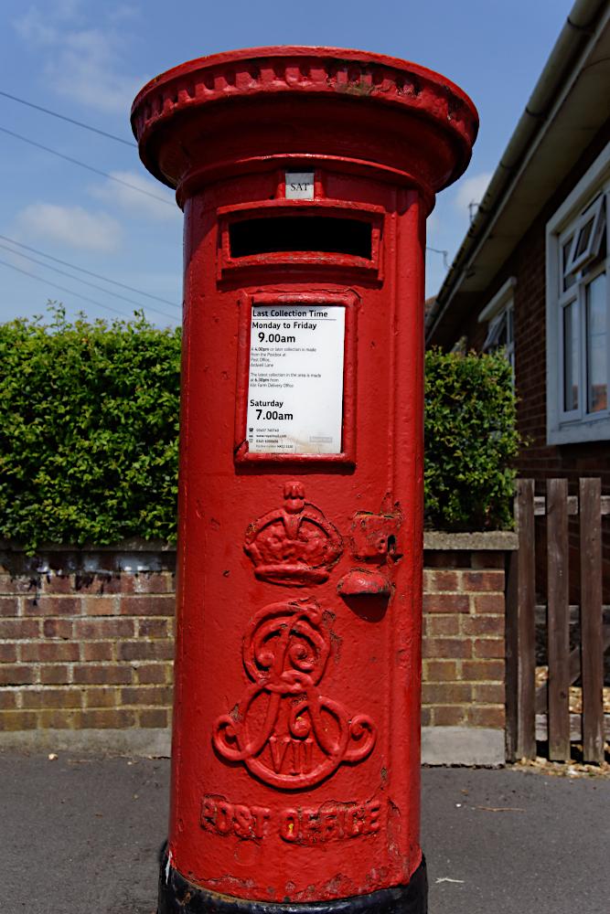 Mystery post box  Wolverton