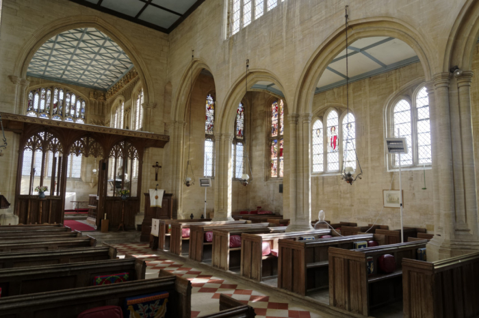 Nave and South aisle  Hillesden