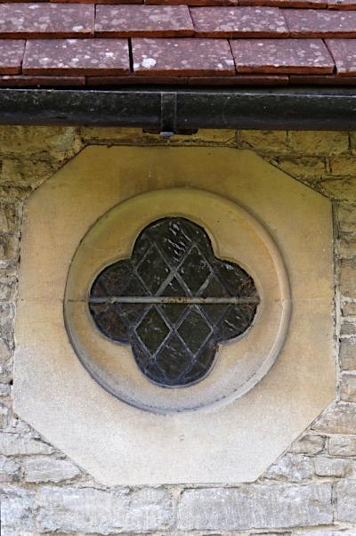 Window at Westcott church  Bucks